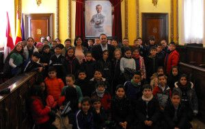 Alumnos de Primaria del colegio Sagrado Corazón