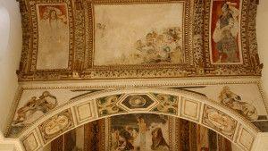 Los maravillosos frescos de la Capilla Luis de Lucena.
