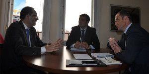 El concejal de Planificación Económica se reúne con CEOE.