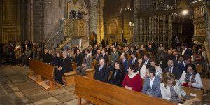 La reina Sofía preside en Ávila el concierto inaugural del III ciclo de Música de Cámara en las Ciudades Patrimonio de la Humanidad. Ávila, 12-03-2016 Foto: Ricardo Muñoz.