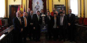 Recepción en el Ayuntamiento a los participantes de la Copa de España.