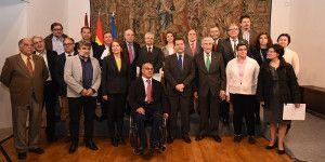 El presidente García-Page, firma un protocolo de colaboración con entidades sociales