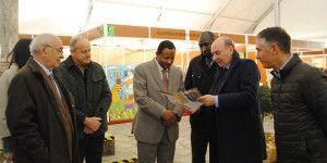 Embajador Sudan Feria Apicola