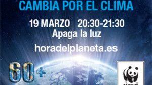Cartel de La Hora del Planeta.