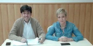 Javier Lopez y Gema Fierres concejales del PP en Torrejón  del Rey