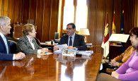 La Diputación de Cuenca estrecha lazos con la Casa de Castilla-La Mancha en Madrid