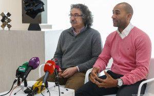 El concejal Armengol Engonga y el técnico de Patrimonio Pedro José Pradillo realizan balance de un año de apertura del Museo Sobrino.
