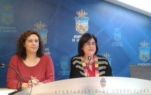 Verónica Renales e Isabel Nogueroles en rueda de prensa.