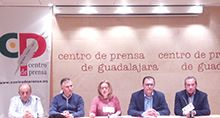 01 COMARSUR. Presidenta, Monserrat Rivas y otros miembros de Comarsur