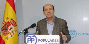 Juan Pablo Sanchez, senador y secretario general del PP de  Guadalajara