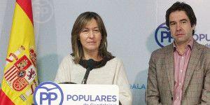 Ana Guarinos y Lorenzo Robisco en rueda de prensa.