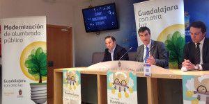 Antonio Román, alcalde de Guadalajara, ha incidido esta tarde en los beneficios que reporta para la ciudad una gestión más eficiente
