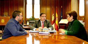 Benjamín Prieto, así se lo ha trasladado al primer edil, Abel Sánchez, durante el encuentro mantenido esta semana en el Palacio Provincial