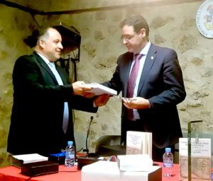Benjamín Prieto, nombrado Socio Honorífico de la Asociación de Amigos por la Historia de Mota del Cuervo