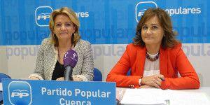 Bonilla y  Martínez en rueda de prensa