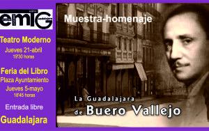 Cartel homenaje a Buero Vallejo.