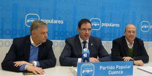 Cañizares, Prieto y Tortosa en rueda de prensa