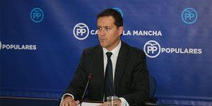 Carlos Velázquez en rueda de prensa.