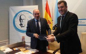 Latre sella la colaboración con la Fundación Cela.