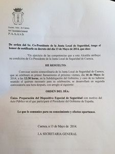 Convocatoria Juan Ávila