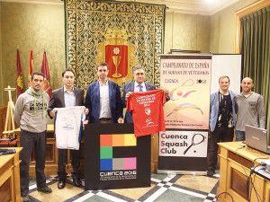 cuenca acogera en mayo el campeonato de espana de squash de veteranos