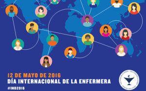 Cartel del Día de la Enfermería.