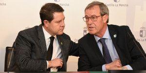 El presidente de Castilla-La Mancha, Emiliano García-Page, Firma de acuerdo con ASPRONA para el desarrollo de programas de atención a personas con discapacidad