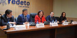 Entrega de diplomas en la sede de FEDETO  en Talavera de la Reina