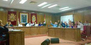 Foto pleno Presupuestos en Azuqueca.