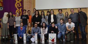 Foto premiados y finalistas I Olimpiada de Filosofía de Guadalajara
