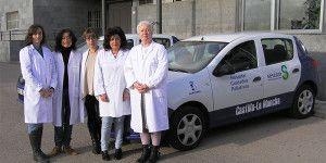 Imagen de las profesionales del equipo de Cuidados Paliativos de Cuenca.