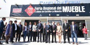 Inauguración de la Feria Regional del Mueble y Afines de Castilla-La Mancha