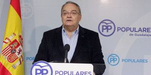 Juan Antonio de las Heras hoy en rueda de prensa.
