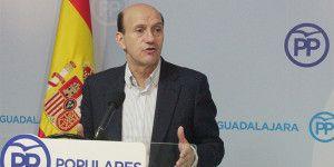 Juan Pablo Sánchez senador y secretario general del PP de  Guadalajara.