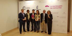 La directora general de Turismo, Comercio y Artesanía, Ana Isabel Fernández Samper, en la Casa Sefarad Israel la programación de actos incluidos en el IV Centenario de la Muerte de Cervantes