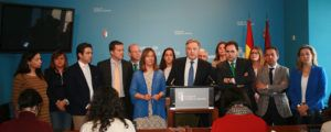 Los diputados del GPP, en rueda de prensa-220416