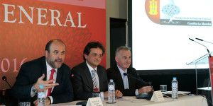 Martínez Guijarro ha asistido hoy en Toledo a la clausura de la Asamblea General Anual de la Asociación de Empresas Familiares de Castilla-La Mancha