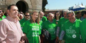 Merino en la manifestación a favor de la agricultura ecológica II, 300416