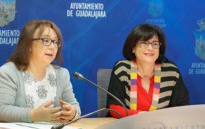 Presentación del Proceso selectivo para talleres de empleo en el zoo de Guadalajara, Isabel Nogueroles y Remedios Hernández