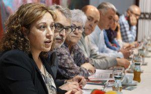 Verónica Renales, concejala de Bienestar Social, ha presentado el programa de sensibilización a los refugiados.