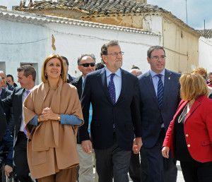 Rajoy y Cospedal El Toboso- 210416 (2)