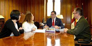 Reunión de Prieto con Acuaprende.