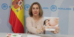 Silvia Valmaña hoy en rueda de prensa 140416