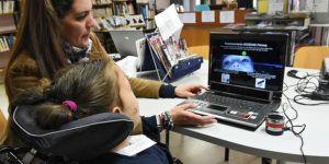 Sistema de comunicación personas problemas de movilidad Parapléjicos