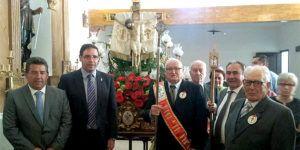 Benjamín Prieto, en las fiestas de Villalgordo del Marquesado