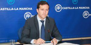 Carlos Velázquez en rueda de prensa, 030516