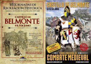 Cartel de las jornadas medievales de Belmonte.