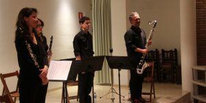 Concierto de clarinete en Trillo.