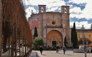 La iglesia de San Ginés de Guadalajara.