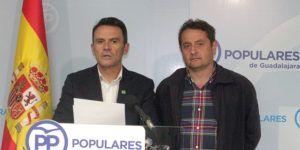 Juan Carlos Martin y Francisco Ubeda vocales del PP en la   MAS hoy en rdp 170516